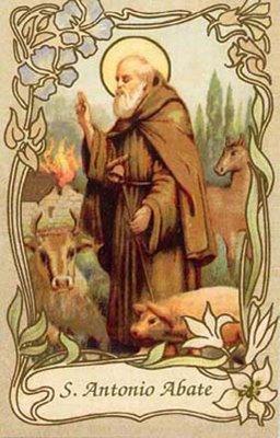S antonio spegni il fuoco luxlucis luxlucis for Arredo bimbo sant antonio abate