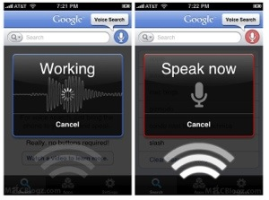 Interroghiamo a voce GOOGLE e lui risponde: è Google Voice Search