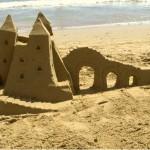 I castelli di sabbia? Ingegneria civile !