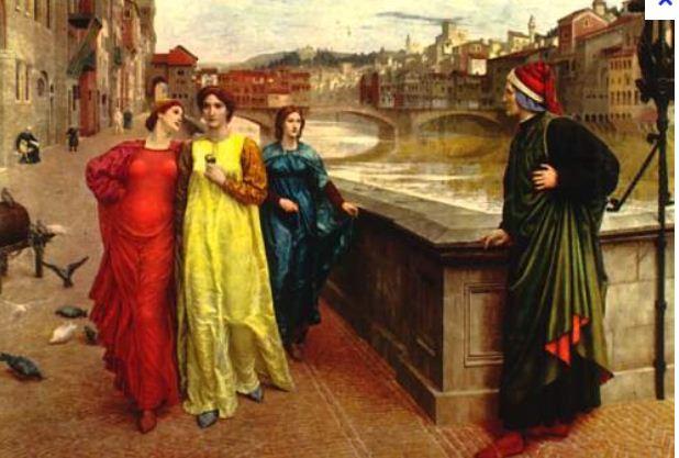 Gemma DONATI, Dante e famiglia