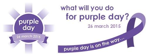 26 marzo … oggi tanti anni fa – Purple day