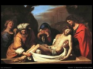 Morte Gesù, il Guercino