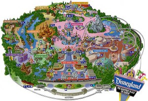 disneyland los angeles park map