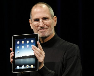steve job con iPad 1