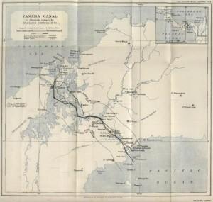 Mappa_Canale_Panama_1914