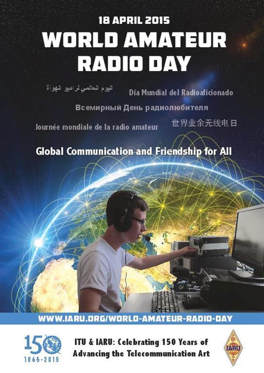18 aprile … oggi anni fa    – Giornata Mondiale del Radioamatore – #WARD2015