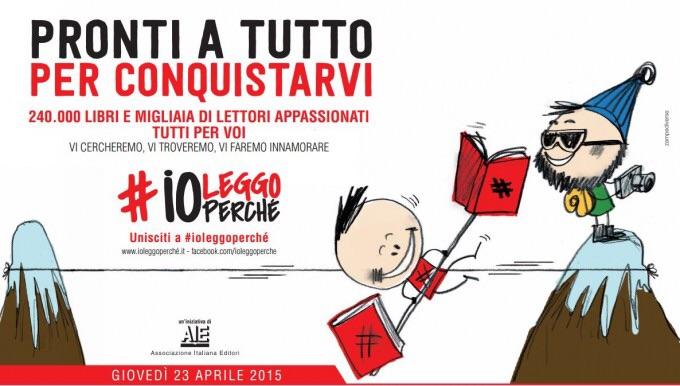 23 aprile … Oggi anni fa    – Giornata Mondiale del Libro – #ioleggoperché