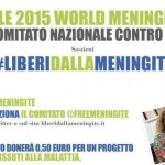 24 aprile … oggi anni fa   – Giornata Mondiale della Meningite #liberidallameningite