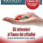 12 maggio … oggi anni fa    – Giornata Internazionale degli Infermieri   –  e … oggi a EXPO 2015