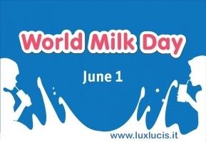 1 giugno … oggi anni fa    – Giornata Mondiale del Latte  –