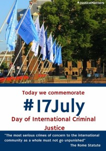 17 luglio … – Giornata della Giustizia Internazionale Penale – Il Ghana a # EXPO2015