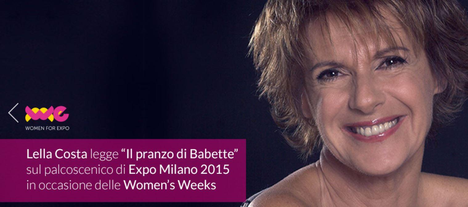 1 luglio … Babette a Cascina Triulza #EXPO2015