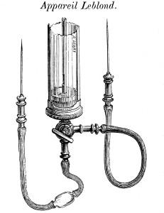 Apparecchio trasfusioni XIX secolo
