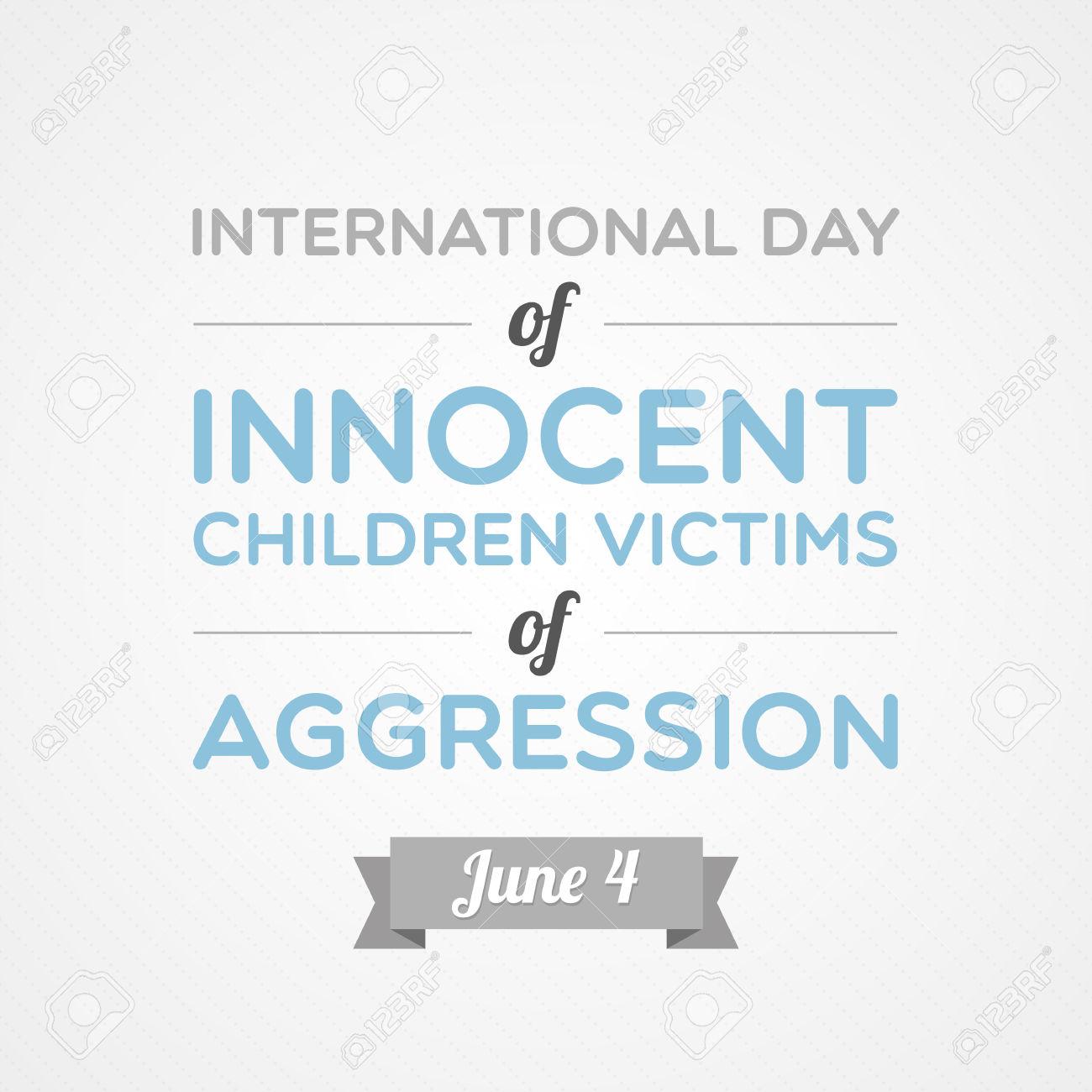 4 giugno … anni fa – Giornata dei Bambini vittime di aggressioni