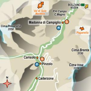 1 luglio … anni fa – Fine settimana in  Val Rendena