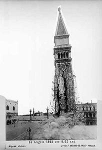 Crollo campanile Venezia