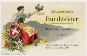1 agosto festa Svizzera