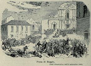 Reggio Calabria - Battaglia piazza Duomo