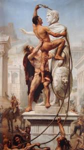 SACCO DI ROMA  anno 410