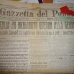 27 agosto … anni fa – Italia dichiara guerra alla Germania – Ungaretti