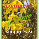 19 marzo … San Giuseppe.  Auguri #papà