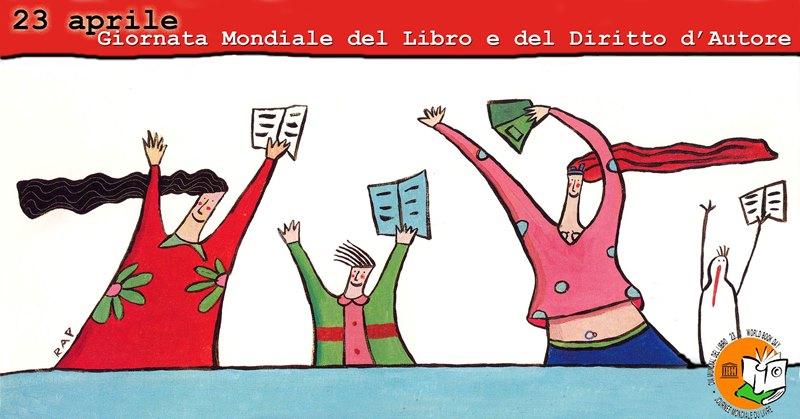 23 aprile – Giornata del LIBRO e della ROSA #GiornataMondialeDelLibro