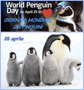 25 aprile – Pinguini – Malaria – Liberazione