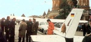 Rust sulla Piazza Rossa di Mosca