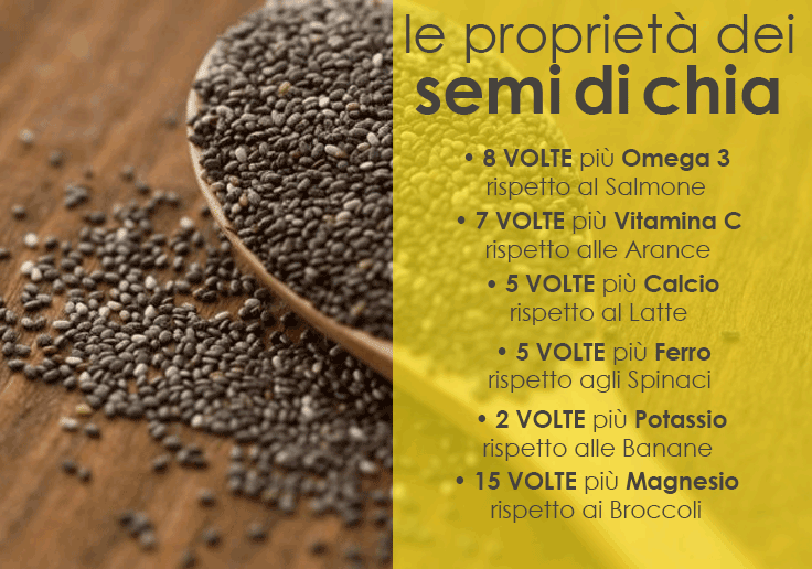 Salvia Hispanica  o CHIA