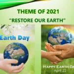 22 aprile, giornata della TERRA #onepeopleoneplanet e … di Claretta